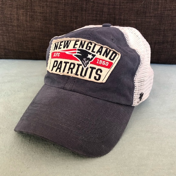 56c1918b6 New England Patriots NFL 47 Brand Trucker Hat